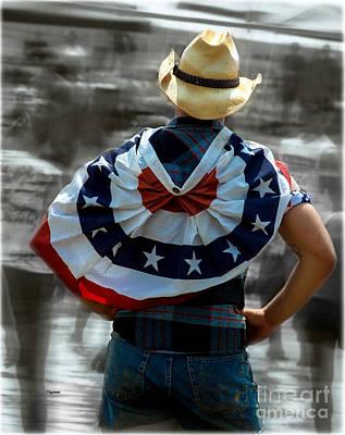 The Patriot  Print by Steven  Digman