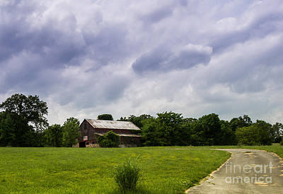 Photograph - The Patriotic Barn by Julie Clements