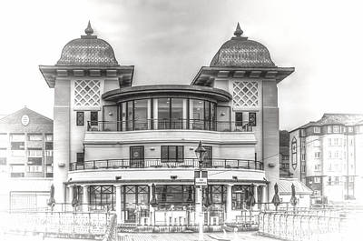 Photograph - The Pavilion Penarth Pier Dreamy by Steve Purnell