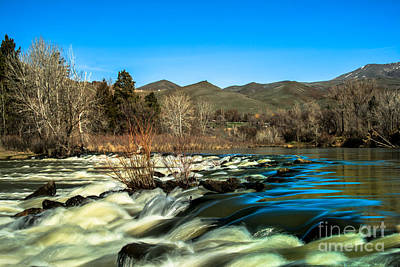 The Payette River Art Print by Robert Bales