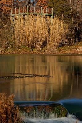 Abstract Airplane Art - The Peace of Mammoth Spring by Douglas Barnett