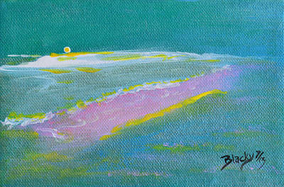Painting - The Peace Of Solitude by Donna Blackhall