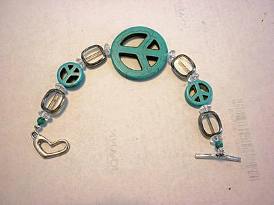 Toggle Clasp Jewelry - The Peace Tree Bracelet by Bonnie Harper