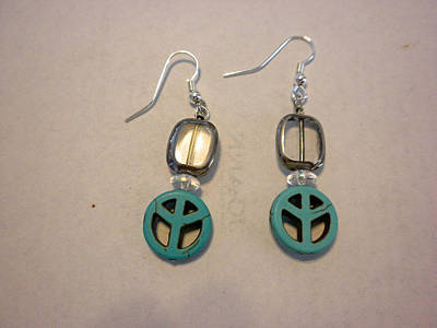 Toggle Clasp Jewelry - The Peace Tree Earrings by Bonnie Harper