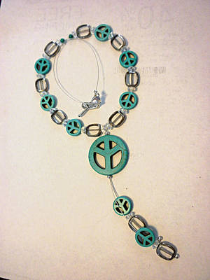 Toggle Clasp Jewelry - The Peace Tree Necklace by Bonnie Harper