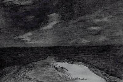 Top View Drawing - The Peak by Bradley Warner