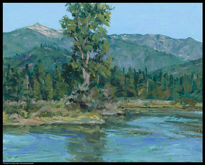 Painting - The Peak From Johnson Creek by Diana Moses