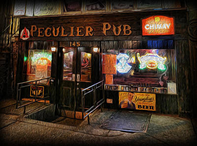 Photograph - The Peculier Pub by Lee Dos Santos