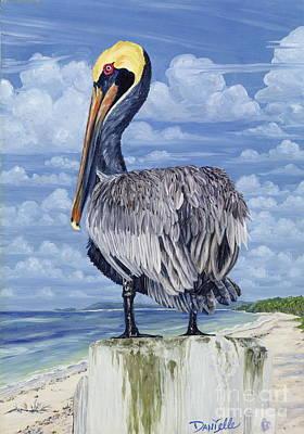 The Pelican Perch Original by Danielle  Perry