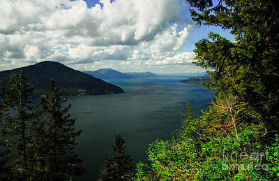 Photograph - The Pend Oreille by Sam Rosen