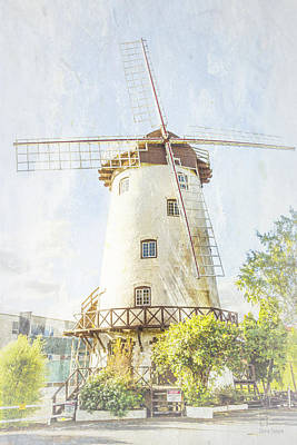 The Penny Royal Windmill Art Print