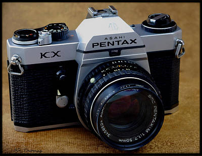 Photograph - The Pentax Kx Camera by James C Thomas