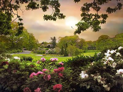 Photograph - The Peony Garden by Jessica Jenney