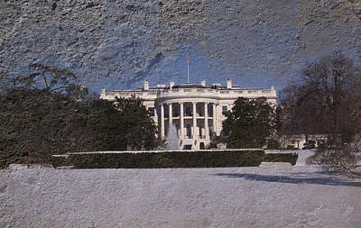 Whitehouse Wall Art - Photograph - The Peoples House by Skip Willits