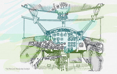 The Percival Pembroke Cockpit  Original