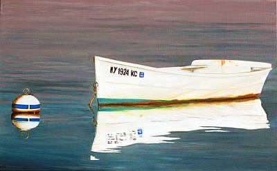 Amagansett Painting - The Perfect Dawn by Lorraine LaVista