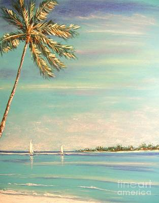 Painting - The Perfect Day by The Beach  Dreamer