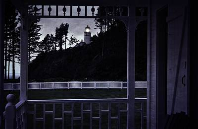 The Perfect Frame For The Heceta Lighthouse Art Print by Image Takers Photography LLC - Laura Morgan