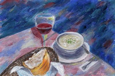 Painting - The Perfect Meal by Jamie Frier