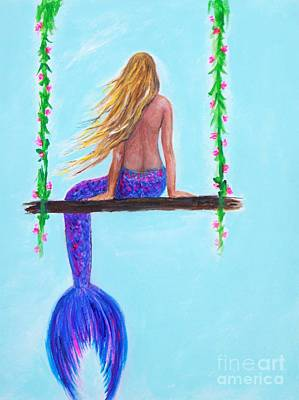 Painting - The Perfect Swing by Leslie Allen
