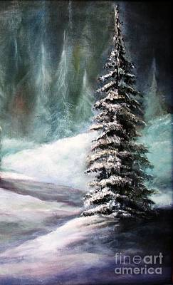 Painting - The Perfect Tree by Hazel Holland