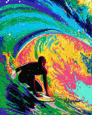 The Perfect Wave Art Print