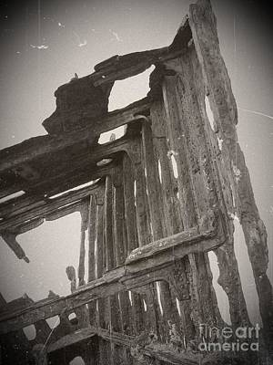 Mixed Media - The Peter Iredale 13 by Chalet Roome-Rigdon