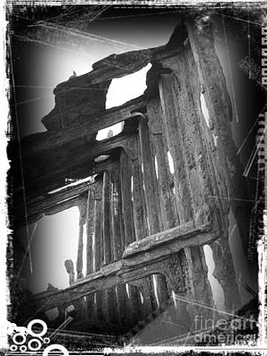 Mixed Media - The Peter Iredale 14 by Chalet Roome-Rigdon