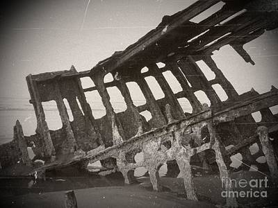 Mixed Media - The Peter Iredale 18 by Chalet Roome-Rigdon