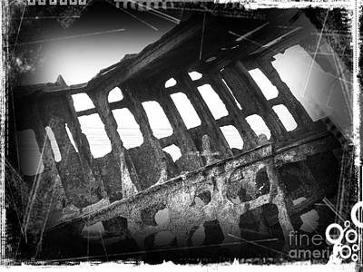 Mixed Media - The Peter Iredale 28 by Chalet Roome-Rigdon