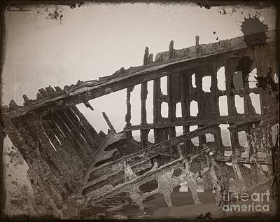Mixed Media - The Peter Iredale 9 by Chalet Roome-Rigdon