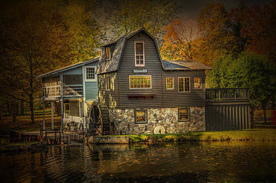 Photograph - The Peterson Mill by Randall Nyhof