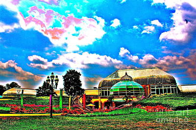The Phipps Conservatory Art Print by Jay Nodianos