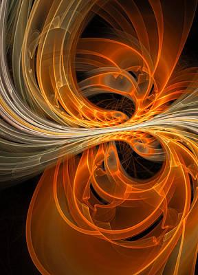 Digital Art - The Phoenix by Amy  Gillespie