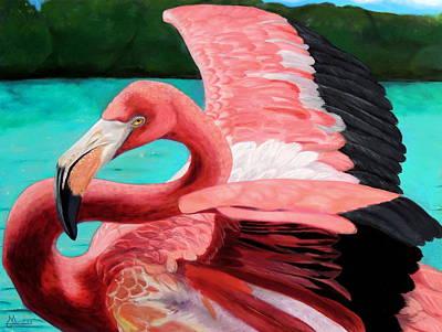 The Phoenix Art Print by Maritza Tynes