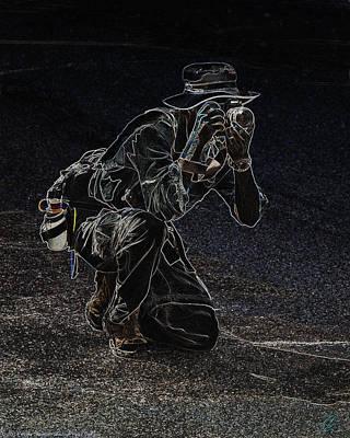 Digital Art - The Photographer by Chris Thomas