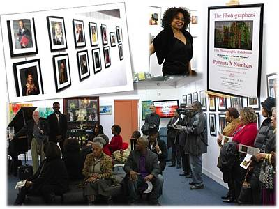 Photograph - The Photographers Exhibit by Tracie L Hawkins