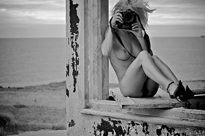 The Photographers#4 Art Print by Jose Maria Pimentel