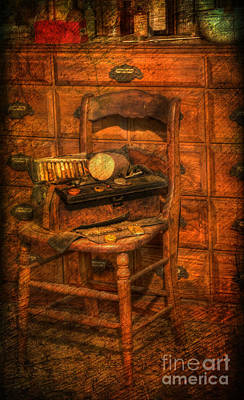 Photograph - The Physician's Bag II - Medical Bag - Doctor's Bag - Nostalgia - Vintage  by Lee Dos Santos