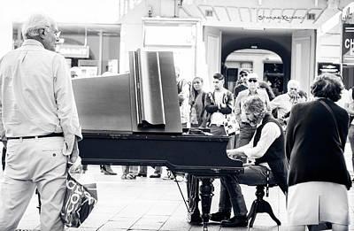 The Pianist Of The High Street Original by Stwayne Keubrick