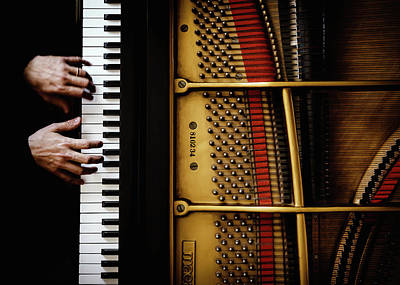 Grand Piano Wall Art - Photograph - The Pianist by Sergio Rapagn??