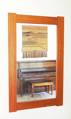 Photograph - The Piano And Rug by Steven Parker
