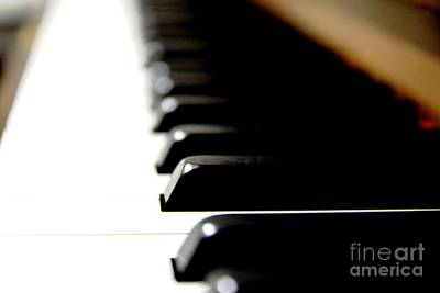 Photograph - The Piano Keys by Aqil Jannaty