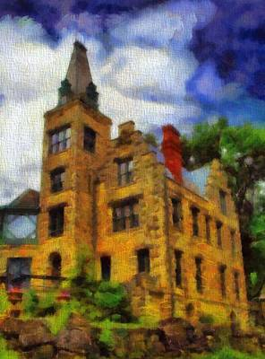 The Piatt Castle Art Print by Dan Sproul
