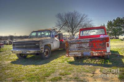Hdr Photograph - The Pick Up by Hilton Barlow