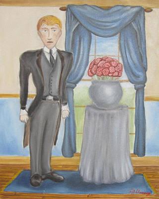 The Picture Of Dorian Gray - Sin's False Face Original by Jeffrey Oleniacz