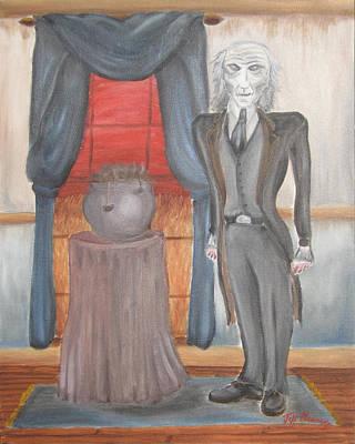 The Picture Of Dorian Gray - Sin's True Face Original by Jeffrey Oleniacz