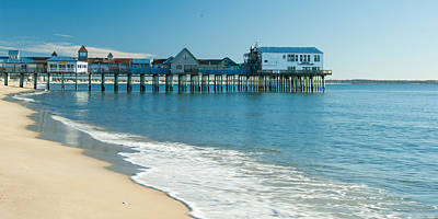 Water Photograph - The Pier 1 by Ralph Staples
