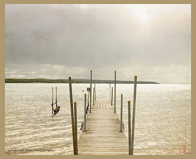 Photograph - The Pier by Beverly Cazzell