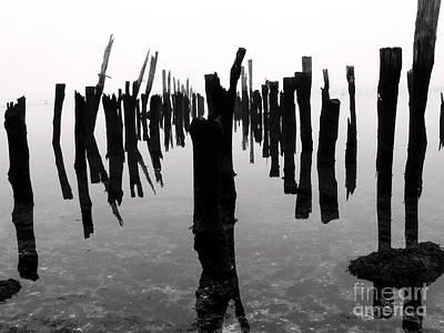 Photograph - The Pier by Butch Lombardi